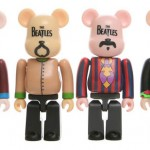 Medicom Toy 'The Beatles' Bearbrick Pack