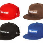 Supreme Box Logo Fleece New Era Fitted Cap