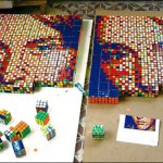 Rubik Cube Mosaic Puzzle