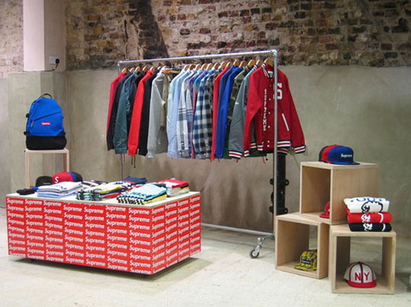 Stores that sell supreme clothing