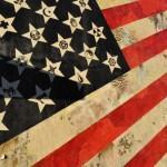 SABER x Shepard Fairey Flags Mural L A