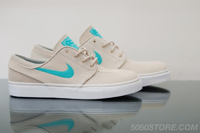 size 40 fdb6f 4cd71 ... and in-store at Fifty Fifty is what we certainly think is the best  colour-way yet of the Nike SB Stefan Janoski low. Coming in a Birch, Clear  Jade ...