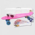 stereo-vinyl-cruiser-skateboard-pink
