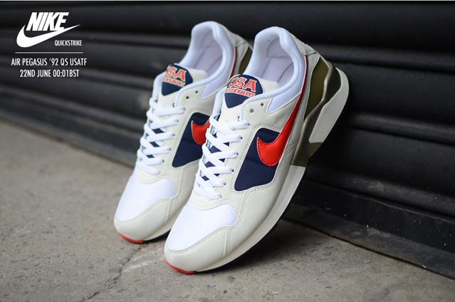quality design 96c0c b1d99 Nike Quickstrike Air Pegasus  92 USATF