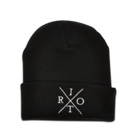 TRC Heritage Knitted Hat Black/White
