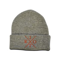 TRC Heritage Knitted Hat Heather/Red