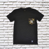 Basic Camo Pocket Tee (Black)