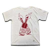 Riot Molotov Cocktail Tee White