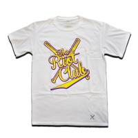 Parlour Hammers Tee White/Yellow