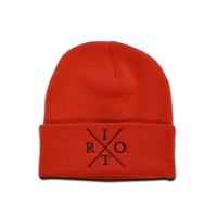TRC Heritage Knitted Hat Red/Black