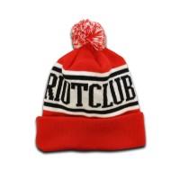 TRC Original Pom Pom Hat Red/Black/White