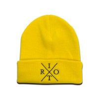 TRC Heritage Knitted Hat Yellow/Black